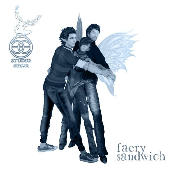 Faery Sandwich - Trio pose